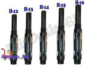 5 Pcs Adjustable Hand Reamer Set H 12 To H 16 Sizes 1 1 16 Inch To 2 7 32 Inch