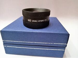 90d Double Aspheric Lens Ophthalmology Optometry W Case