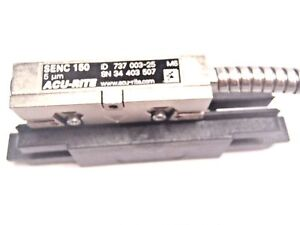 Senc Acu rite 737 003 25 150 5um Linear Scale 4 Readable 34 403 507 9 pin