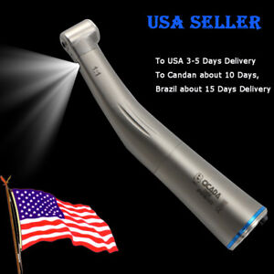 Nsk Type Dental Fiber Optic Contra Angle1 1 Low Speed Handpiece Ti Max