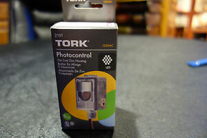 Photo Cell Tork 2101 120volt Heavy Duty Rain Tight 2000 Watt Nib Led Upgraded