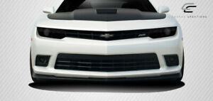 Carbon Creations V8 Gm x Front Lip Under Air Dam Spoiler 1 Piece For Camaro