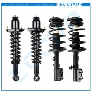 For 2003 08 Toyota Corolla 4 Quick Complete Shocks Struts Coil Spring Assembly
