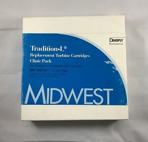 Midwest Dentsply Dental Tradition l Power Lever Replacement Turbine 12 Pk