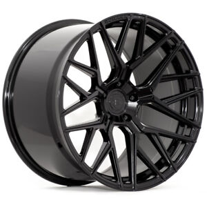 21 Rohana Rfx10 Black Concave Wheels Rims Fits Porsche Cayenne Gts Turbo