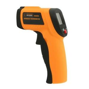 Backlit Digital Non Contact Infrared Thermometer Test Meter With Laser Sighting