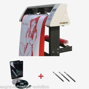 48 Redsail 1360c Vinyl Sign Cutter Plotter With Contour Cut Function