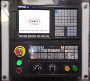 Sale Gsk218mc Cnc Control Mazak Moriseiki bridgeport vmc hmc In Stock