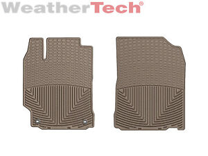 Weathertech All weather Floor Mats For Toyota Camry 2012 2017 1st Row Tan