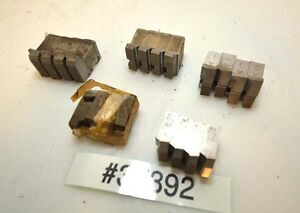 1 Lot Of Geometric Die Head Chasers inv 37392
