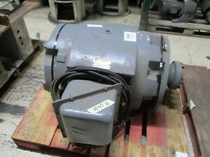 Reliance Electric Ac Motor 250hp 1800rpm Encl Dp Fr 445tsd 283a 460v Used