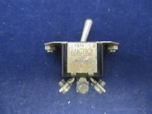 Micro Switch Ms25103 26 Toggle Switch