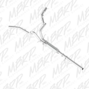 Mbrp Cat Back Exhaust Dual Side Exit For 14 17 Silverado Sierra 1500 4 3 5 3l