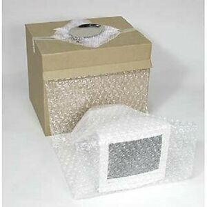 Bubble Packing Material In Dispenser Box 12 x100 5 16 Heavy Duty Perf 12
