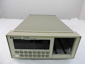 Agilent 8153a Lightwave Multimeter Mainframe 90 Day Warranty