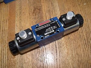 Rexroth Bosch R978023829 Hydraulic Directional Valve 4we 6 J62 eg24n9k33l 62