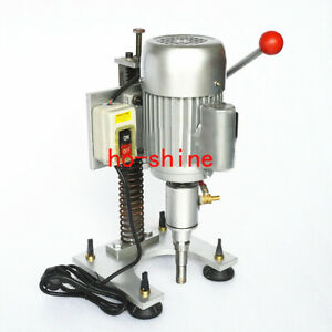 Small Single Arm Glass Drilling Machine Small Glass Stone Tile Tapper