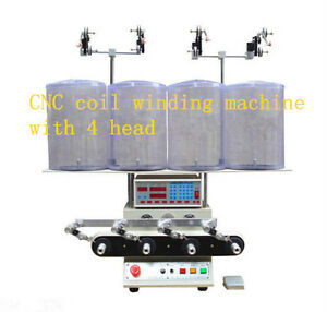 New 4 Axis Computer Fully Automatic Coils Winder Winding Machine S