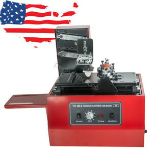 110v Electric Pad Printer Printing Machine For Printing Date High Speed