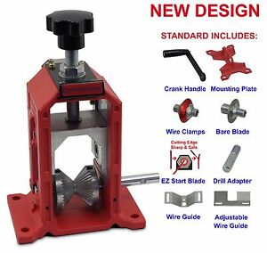 Manual Copper Wire Stripping Machine Cables Wire Stripper For Copper Recovery