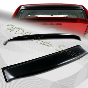 For 2005 2010 Chevy Cobalt 4 dr Black Acrylic Rear Window Roof Visor Spoiler