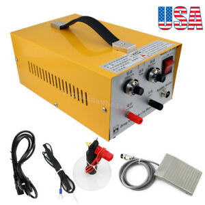 From Usa jewelry Welding Machine Electric Pulse Sparkle Spot Welder Jewelry Tool