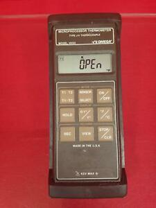 Omega Model Hh22 Microprocessor Thermometer Type J k