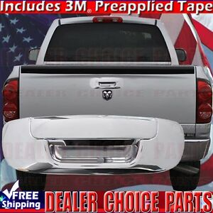For 2002 2008 Dodge Ram 1500 2003 2009 2500 3500 Chrome Tailgate Handle Cover