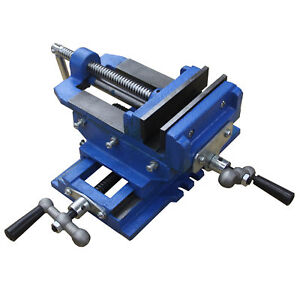 Hfs r 5 Cross Sliding Drill Press Vise Slide Vice Heavy Duty Shop Grip Tools