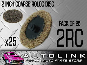Roloc Disc 2 51mm Coarse Quickly Remove Gasket Materials Oxidation