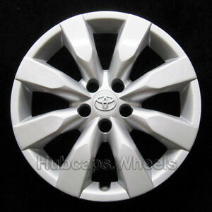 Hubcap For Toyota Corolla 2014 2016 Genuine Oem Factory 16 Wheel Cover 61172
