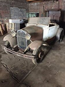 Ford Standard Roadster 40b With 1931 Rad Grill Approx 80 Complete