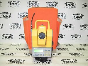 Trimble Ats Geodimeter Robotic Total Station 2 4ghz W 600 Cu Keypad