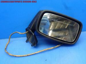 83 85 Porsche 944 Right Passenger Exterior Mirror Assembly Complete 5 Wire
