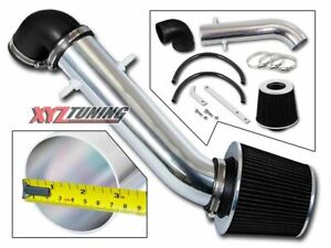 Black Short Ram Air Intake Kit Filter For 1991 1995 Jeep Wrangler 2 5l 4 0l