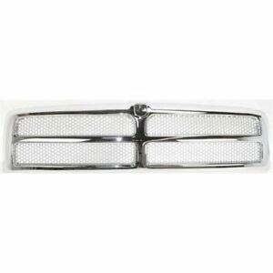 New Ch1200178 Chrome Grille Assembly For Dodge Ram 1500 2500 3500 1994 2002