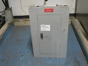 Ge Main Breaker Circuit Breaker Panel 100a Main 24 slot 208y 120v 3ph 4w Used