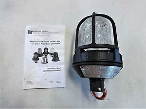 Federal Signal Clear Strobe Light For Hazardous Locations 154xst 1224c
