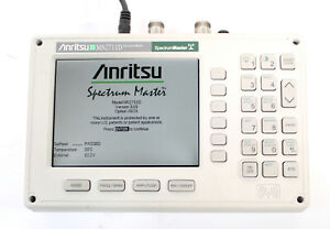 Anritsu Ms2711d Color Portable Rf Spectrum Analyzer 100khz To 3ghz