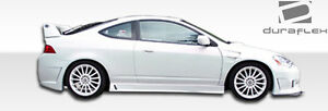 02 06 Acura Rsx Duraflex B 2 Side Skirts Rocker Panels 2pc 100298