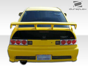 88 91 Honda Cr x Duraflex Type M Rear Bumper 1pc Body Kit 100817