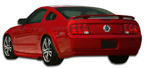 05 09 Ford Mustang Duraflex Eleanor Rear Bumper 1pc Body Kit 104769