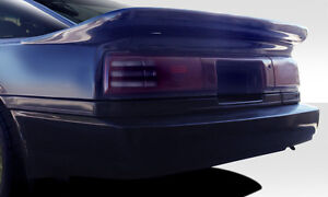 86 92 Toyota Supra Duraflex Bomber Wing Spoiler 1pc Body Kit 109659