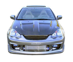 02 04 Acura Rsx Duraflex I spec Front Bumper 1pc Body Kit 100306