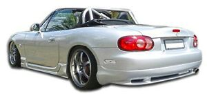 98 05 Mazda Miata Duraflex Wizdom Rear Lip Air Dam 105962