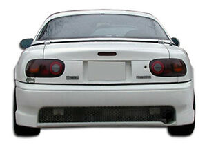 90 97 Mazda Miata Duraflex Wizdom Rear Bumper 1pc Body Kit 100965