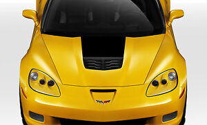 05 13 Chevrolet Corvette C6 Duraflex Stingray Z Hood 1pc Body Kit 109685