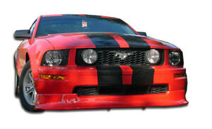 05 09 Ford Mustang V6 Duraflex Racer Front Lip Air Dam 1pc Body Kit 100660
