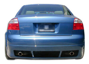 02 05 Audi A4 4dr Duraflex R 1 Rear Lip 1pc Body Kit euro Spec 100289