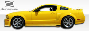 For 05 14 Ford Mustang Eleanor Side Skirts Rocker Panels 2pc 104768
